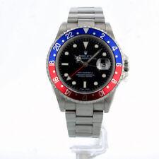 Rolex Gmt Ii 16710 40MM Dial Negro Azul/Rojo Pepsi Bisel BOX/12 mes GTEE 2004