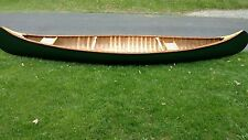Old Town Yankee Wood/Canvas Canoe