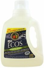 ECOS Ultra Laundry Detergent by Earth Friendly Products, 4 x 100 oz Lemongrass