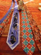 homme==lot  3   belles cravates soies  qualité