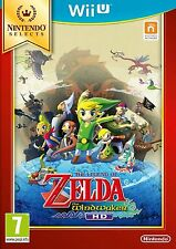 Wii U The Legend Of Zelda The Wind Waker Selects Nuevo Precintado Pal España