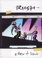 RUSH - A SHOW OF HANDS USED - VERY GOOD DVD