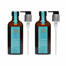 BEST PRICE BULK BUY DUO PACK Moroccan Oil Hair Treatment 100ml with FREE Pump