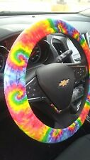 Tie Dye Steering Wheel Cover/Womens Custom Car Accessories/New