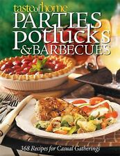 NEW BOOK: Taste of Home PARTIES POTLUCKS & BARBECUES~BUY 3 BOOKS, G1FREE+$10GIFT