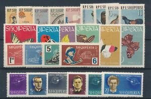 [33566] Albania Good lot Very Fine MH stamps