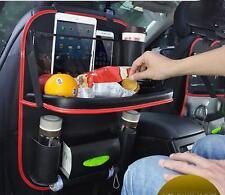 Car Seat Back Storage Bag Travel Bag Food Table Desk Organizer Laptop Holder