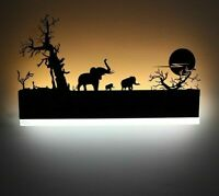 Home Wall-mounted Lamps Lovely Design Night Light Led Bulb Shade-less Room Decor