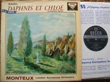 SXL 2164 WBG ED1: RAVEL DAPHNIS & CHLOË - MONTEUX/LSO: NM