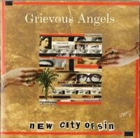 GREVIOUS ANGELS new city of sin - CD  country