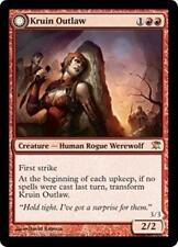 KRUIN OUTLAW Innistrad MTG Red Creature—Human Rogue Werewolf RARE
