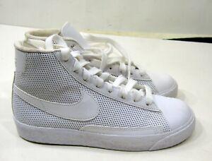 new  Nike blazer mid 375490-112 all white pre school KID  size 2