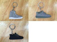 Full Set 3 Pcs Adidas Yeezy Boost Keychain Triple Black Moonrock