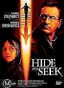 Hide And Seek - DVD - 2005 Robert Deniro - DAOKTA FANNING - MYSTERY THRILLER