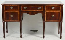 Craftique Mahogany Sideboard Williamsburg Federal Style with Satinwood Banding