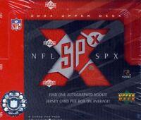 2004 Upper Deck SPx Football Hobby Box