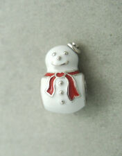 AUTHENTIC PANDORA CHARM/BEAD SILVER 791406 happy snowman snow winter christmas