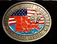 2010 National Scout Jamboree Central Region Belt Buckle