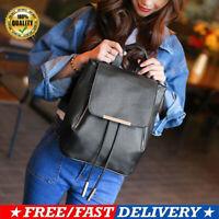 Women Leather Backpack Girls Shoulder School Bag Lady Handbag Rucksack Travel