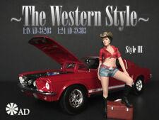 American Diorama Figure 1:24 Scale (7.5 cm) The Western Style III - AD-38303