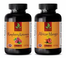 Fat burner and metabolism booster - RASPBERRY KETONES – AFRICAN MANGO COMBO