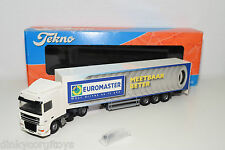 TEKNO DAF XF TRUCK WITH TRAILER EUROMASTER MEETBAAR BETER MINT BOXED RARE