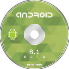 ANDROID 8.1 OREO for PC Bootable CD Rom Operating System