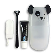 PETOSAN DOUBLE HEADED DENTAL TOOTHBRUSH KIT PUPPIES TOY DOGS CATS