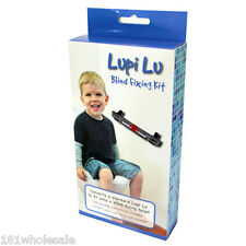 Lupi Lu Dual Toilet Seat Blind Fixing Set Kit converts seat to blind toilet