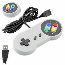 Retro Super Nintendo SNES USB Controller Game Pad For Windows 10 Laptop PC Mac