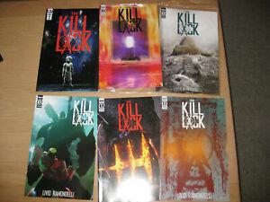 THE KILL LOCK (2020) - Complete Set / Series - #1, #2, #3, #4, #5, #6 - NEW FP