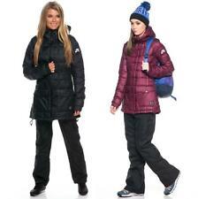 Nike Womens 700FP Down Snowboarding Jacket, XS/S/M/L/XL Black/Garnet - $250 NWT!