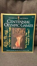 SIGNED/AUTOGRAPHED Michelle Akers 1996 Atlanta Olympic Games Program USWNT