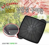 Korean BBQ Grill Portable Barbecue Grill Gas Stove Outdoor Camping Food Cooker