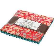 Robert Kaufman Fabrics Artisan Batiks Coral Reef 42 Charm Squares
