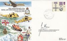 AC48c RAF Rescue Service Cover Signed Air Vice Marshal J Morris