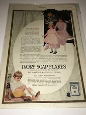 Ad for Ivory Soap Flakes, from The Ladies' Home Journal, July 1920