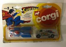 VINTAGE CORGI TOYS SUPERMAN SUPERMOBILE and VAN 2-PACK (2506) MIP!