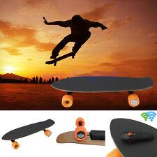 4 Wheels Electric Longboard Skateboard Skate Board + Wireless Remote Controller