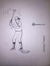 Original Hustler Humor Art By  Dwaine  Tinsley Signed