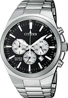 Citizen Men's Quartz Chronograph Black Dial Date Display 40mm Watch AN8170-59E