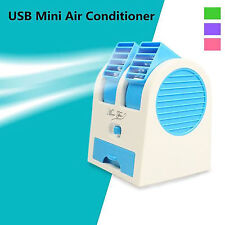 Mini Portable Fan Cooling Cooler Bladeless Air Conditioner with Water Tray