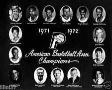 1971-72 INDIANA PACERS ABA BASKETBALL TEAM 8X10 PHOTO