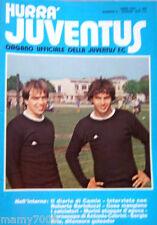 RIVISTA=HURRA JUVENTUS=N°6 1979=BRIO=FANNA=COPPA ITALIA SEMIFINALE CON L'INTER