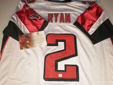 Matt Ryan Autographed Falcons White Reebok Jersey