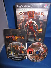 Sony Playstation PS2 God of War II 2 Disc Set Complete