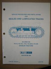 Original 1983 International Hough, Dresser service for Crawler Tractors Booklet