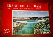 GRAND COULEE DAM 8TH WONDER OF THE WORLD 1942