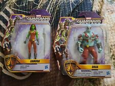 "Guardians Of The Galaxy: DRAX & GAMORA 5"" Action Figures (2015 Hasbro)"