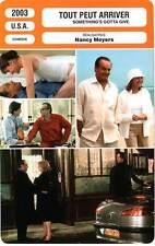 FICHE CINEMA : TOUT PEUT ARRIVER - Nicholson,Keaton 2003 Something's Gotta Give